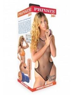Manette Peluche Love Cuffs Zebrato
