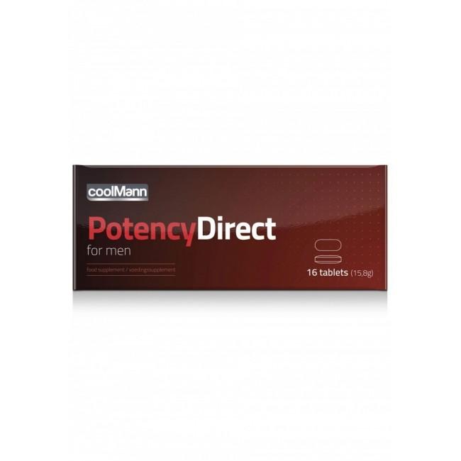 CoolMann Integratore Potency Direct...